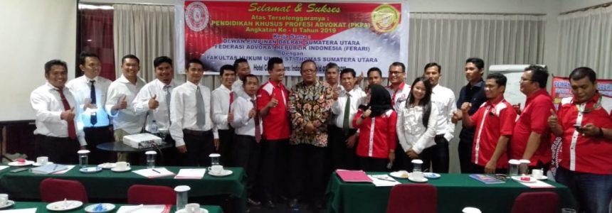 Pelaksanaan PKPA DPD Ferari Sumatera Utara